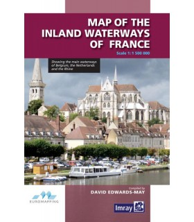 Map of the Inland Waterways of France