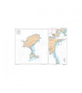 7114 L - Ibiza et Formentera - Carte marine Shom papier