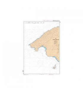 7115 L - Mallorca - Partie Ouest - De Punta Beca à Punta Salinas - Carte marine Shom papier