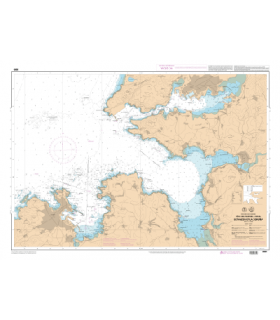 6665 L - Rias de Ferrol, Ares, Betanzos et A Coruna - Carte marine Shom papier
