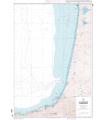 6786 L - De Biscarrosse à San Sebastian - Carte marine Shom papier