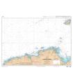 6930 L - Des Roches de Portsall au Plateau des Roches Douvres - Carte marine Shom papier