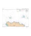 6937 L - Jersey - Côte Nord - Carte marine Shom papier