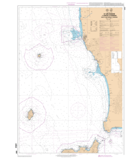 6963 L - De Gombo au canal de Piombino - Iles d'Elbe, Capraia et Gorgona - Carte marine Shom papier