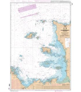 6966 L - Des Héaux-de-Bréhat au Cap Lévi - Carte marine Shom papier
