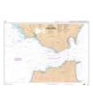 7042 L - Détroit de Gibraltar - Carte marine Shom papier