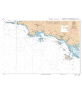 7067 L - De la Chaussée de Sein à Belle-Ile - Carte marine Shom papier