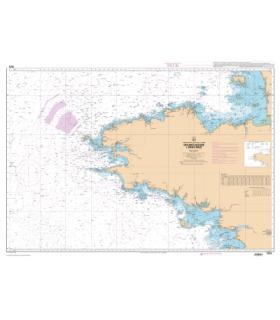 7076 L - De St Malo à St Nazaire - Carte marine Shom papier