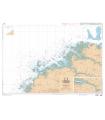 7094 L - Du Phare du Four à l'île Vierge - Port de l'Aber-Wrac'h - Carte marine Shom papier