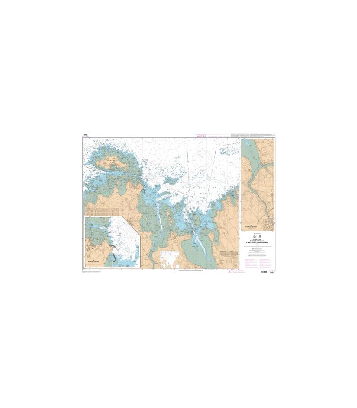 7095 L - Baie de Morlaix - De l'île de Batz à la Pointe de Primel