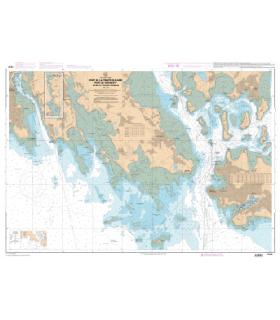7107 L - De la Trinité-sur-Mer au Port du Crouesty - Carte marine Shom papier