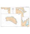 7117 L - Menorca - Ports et mouillages de Menorca - Carte marine Shom papier