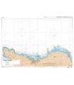 7120 L - Abords de Cherbourg - Du Cap de La Hague à la Pointe de Barfleur - Carte marine Shom papier