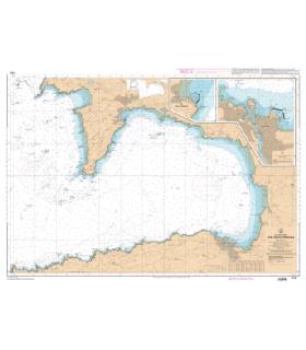 7121 L - Baie de Douarnenez - Carte marine Shom papier