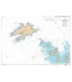 7123 L - Ile Molène - Ile d'Ouessant - Passage du Fromveur - Carte marine Shom papier