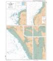 7133 L - Ports de la côte Ouest du Cotentin - Carte marine Shom papier