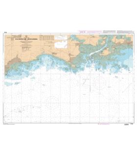 7135 L - De la Pointe de Saint-Jacques à Damgan - Carte marine Shom papier