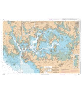 7137  - Golfe du Morbihan - Carte marine Shom papier