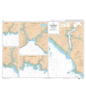7138 L - Ports et mouillages en Bretagne Sud - Carte marine Shom papier
