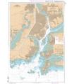 7140  - Passes et Rade de Lorient - Carte marine Shom papier