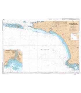 7147 L - De la Chaussée de Sein à la Pointe de Penmarc'h - Baie d'Audierne - Carte marine Shom papier