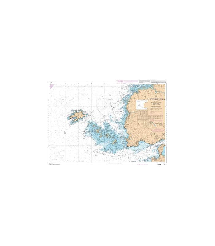 7149 L - Du Goulet de Brest à Portsall - Ile d'Ouessant