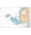 7149  - Du Goulet de Brest à Portsall - Ile d'Ouessant - Carte marine Shom papier