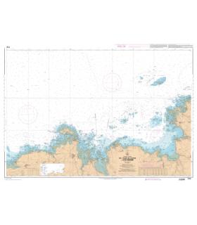 7151 L - De l'anse de Kernic à l'île Grande - Carte marine Shom papier