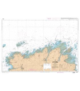 7152 L - De l'Ile Grande à l'Ile de Bréhat - Carte marine Shom papier