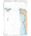 7158 L - Du Cap de Carteret au Cap de la Hague - Raz Blanchard - Carte marine Shom papier