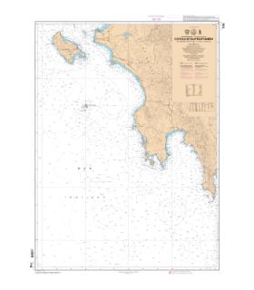 7195 L - Côte Ouest du Peloponnèse - De Nisos Zakinthos à Akra Tainaro