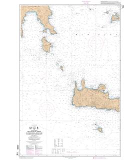 7196 L - Côte Sud de Grèce - De Akra Tainaro à Nisos Milos et partie Ouest de Nisos Kriti
