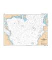 6561  - Carte conforme oblique de l'océan Atlantique Nord  France-Antilles -Route du Rhum