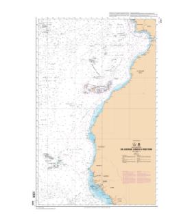 6624 L - De Lisbonne (Lisboa) à Freetown - carte marine Shom papier