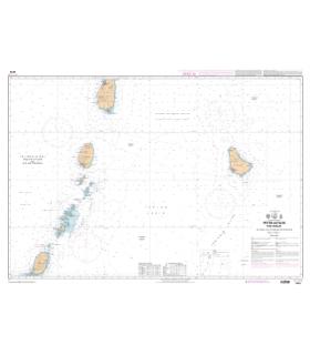 7629 L - Petites Antilles - Partie Sud - De Saint Lucia à Grenada et Barbados