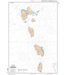 7631 L - Petites Antilles - Partie centrale - De Montserrat à Saint Lucia