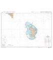 7677  - Île de Mayotte - Carte marine Shom papier