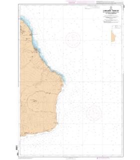 7222 L - La Réunion - Partie Est- De la Pointe de la Rivière du Mât à la Pointe Marcellin