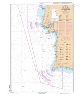 7753 L - De Cabo Carvoiero à Cabo de Sao Vicente - Carte marine Shom papier