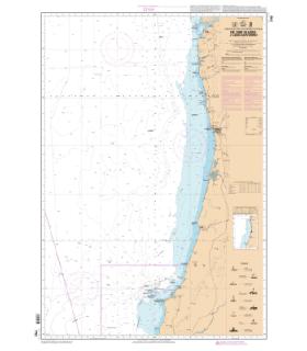 7752 L - De Cabo Silleiro à Cabo Carvoiero - Carte marine Shom papier