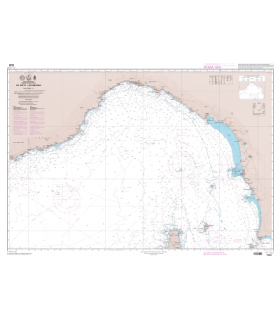 7229 L - De Nice à Piombino - Carte marine Shom papier