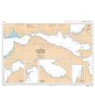7253 L - Golfe de Corinthe (Korinthiakos Kolpos) - Golfe de Patras (Patraïkos Kolpos) - Carte marine Shom papier