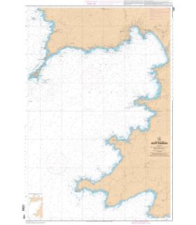 7280 L - Golfe d'Ajaccio - Carte marine Shom papier