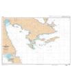 7284 L - De Argolikos Kolpos à Nios Poros - Carte marine Shom papier