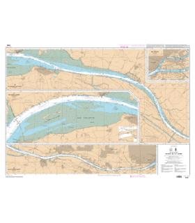 7396 L - Cours de la Loire - Carte marine Shom papier