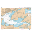 7400 L - Rade de Brest - Carte marine Shom papier