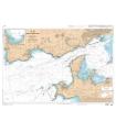 7401 L - Accès à la Rade de Brest - Carte marine Shom papier