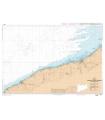 7417 L - Abords de Fécamp et de Dieppe - Du Cap d'Antifer à Dieppe - Carte marine Shom papier