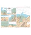 7420 L - Ports en Baie de Seine - Carte marine Shom papier