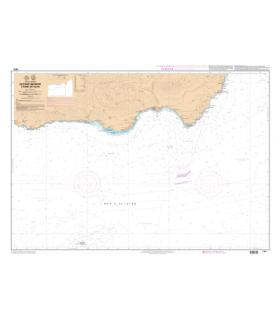 7672 L - De Cabo Sacratif à Cabo de Gata - Carte marine Shom papier
